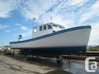 42' Provincial Fiberglass Angling Watercraft.