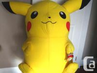 "I have a 42"" Giant Large Pikachu Pokemon Stuffed Plush"