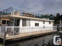 42' Houseboat, very well maintained , near new 115
