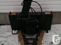 . Model LP1642 Ber Vac (Bercomac) 42 inch 2 phase snow