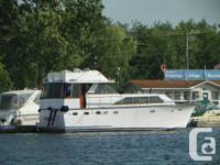 A terrific watercraft for cruising or a terrific
