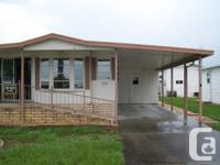 Great 2br/1ba completely furnished mobile residence
