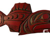 RED SNAPPER BY SARAH ROBERTSON 15SR35 Dimensions:
