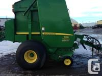 569 2013 John Deere 569, Round Balers, Net wrap and