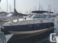 Well cared for freshwater Rinker 270 Fiesta Vee. A