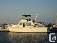 43 ft. TOLLYCRAFT COCKPIT MOTOR YACHT 1982 equipped