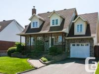 *** The stunning Canadian residence was enlarged and
