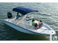 2012 Boston Whaler 170 Dauntless c/w 90 HORSEPOWER