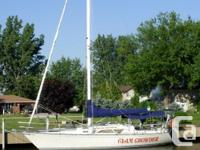 Popular and well maintained boat - centerboard keel a