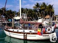 2015 survey available! This is a serious offshore boat