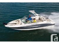 2016 Chaparral 19 H2O Ski & FishExtra options include: