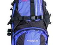 Brand New large and versatile internal frame backpack