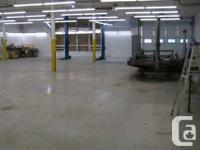 Autobody / Crash Repair service / Mechanical Room For