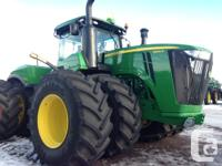 9470R 2015 John Deere 9470R, Articulated four