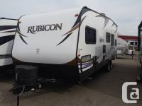 This Rubicon 2600 is a phenomenal toy hauler loaded