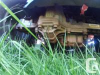 """8 yr old, 46"""" cutting width Craftsman Ride on Lawn"""