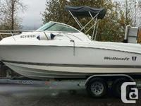2007 23� Wellcraft Cuddy with 200 HORSEPOWER Yamaha