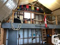 46' Boathouse located on C dock at Canoe Cove Marina in