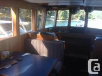 47' BOAT FOR SALE POWERED BY A 6LW GARDNER ENGINE THAT