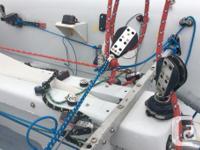 Race ready, Italian Nautivela, 470 class sailing
