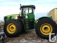 9560R John Deere 9560R, Articulated four wheel-drive