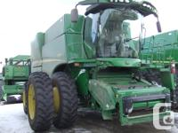 S680 2014 John Deere S680, Combines, iT4, Premium Cab,