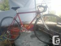 This bike has been refurbished with Double wall surface
