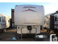 Description: Great fifth wheel toyhauler with 12 ft