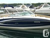 NEW TO THE MARKET . The 240 Sundeck is 1 of Sea Ray's