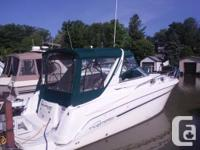 Fantastic condition turn key boat, powered by twin 350