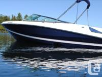 One-owner, bought new from Crate's Lake Country Boats