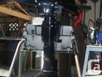 Used 4HP HIDEA 4 stroke outboard like new $ 650.00.