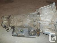 Completely Professionally Rebuilt 4L60E automatic 4WD