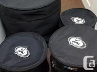 4pc dw collectors series drums. Custom ordered ebony