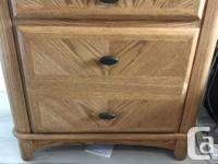 This gorgeous solid wood bedroom set retailed for over