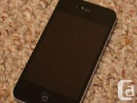 Selling black iPhone 4S. Upgraded to new iPhone, not