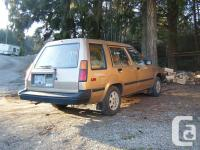 Make Toyota Model Tercel Year 1984 Colour gold kms