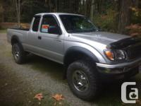 Make. Toyota. Design. Tacoma. Year. 2003. Colour.
