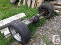 Mid 70s ford rear and front diffs,transfer case,4 speed