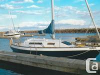 Comfortable family cruising yacht, easily handled.New