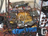 "This mining rig is sold ""as-is"", and has been tested"