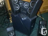 Wonderful problem. Logitech design X-540. 5 speakers