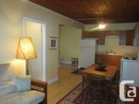 Offered July 1, 2014. Supplied one bedroom house,
