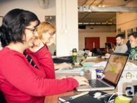 Station C est un espace de coworking situé à Montréal,