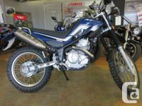 Fun Loving Dual Sport 250 cc, air cooled, fuel