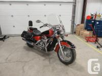 Honda Shadow 750 Aero Tourer.Honda's No.1 selling V