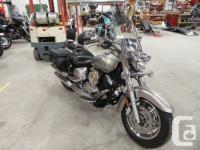 2006 Yamaha's Iconic Silverado 1100. The V Star will