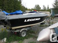 Pre-owned Legend 15' Fishing Package with Tohatsu 20HP