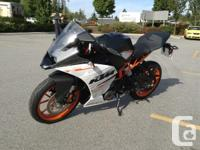 New RC390 .A sports bike in its purest form. Reduced to