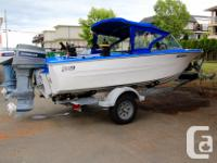 This 15.5' Glascraft is the perfect starter boat and
